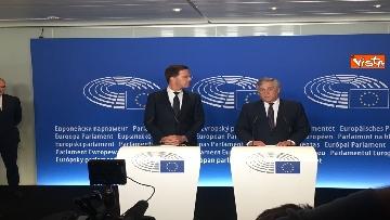 6 - Tajani incontra Rutte a Strasburgo