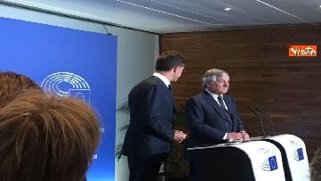 2 - Tajani incontra Rutte a Strasburgo