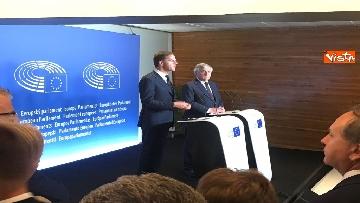 3 - Tajani incontra Rutte a Strasburgo