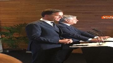 11 - Tajani incontra Rutte a Strasburgo
