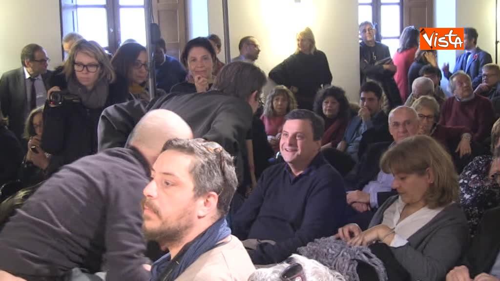 17-03-18 Calenda all'assemblea pubblica del Pd a Roma