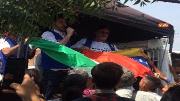 7 - Capone (Ugl) al confine tra Venezuela e Colombia per sostenere il popolo venezuelano