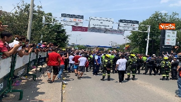 1 - Capone (Ugl) al confine tra Venezuela e Colombia per sostenere il popolo venezuelano