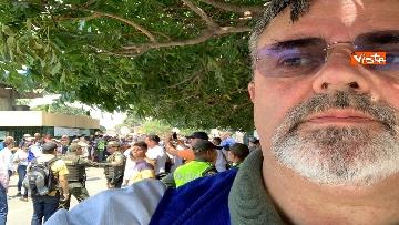 2 - Capone (Ugl) al confine tra Venezuela e Colombia per sostenere il popolo venezuelano