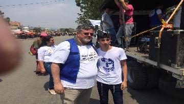 5 - Capone (Ugl) al confine tra Venezuela e Colombia per sostenere il popolo venezuelano