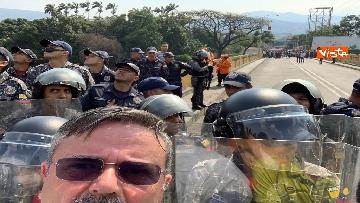 3 - Capone (Ugl) al confine tra Venezuela e Colombia per sostenere il popolo venezuelano