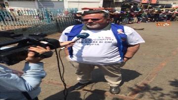 4 - Capone (Ugl) al confine tra Venezuela e Colombia per sostenere il popolo venezuelano