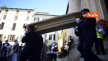 13 - Funerale Zavoli, le immagini del funerale nella chiesa di San Salvatore in Lauro a Roma