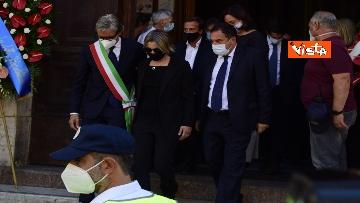 6 - Funerale Zavoli, le immagini del funerale nella chiesa di San Salvatore in Lauro a Roma