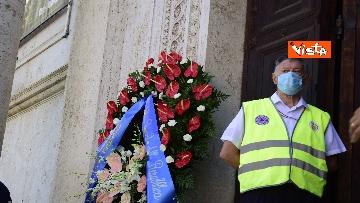 9 - Funerale Zavoli, le immagini del funerale nella chiesa di San Salvatore in Lauro a Roma