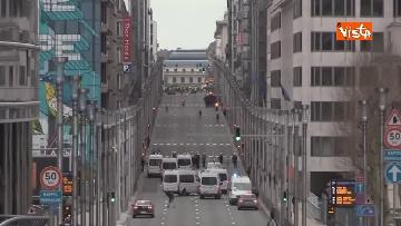 1 - I Gilet gialli protestano a Bruxelles