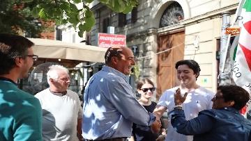 10 - Zingaretti al Banchetto Pd a Piazza Cola di Rienzo a Roma