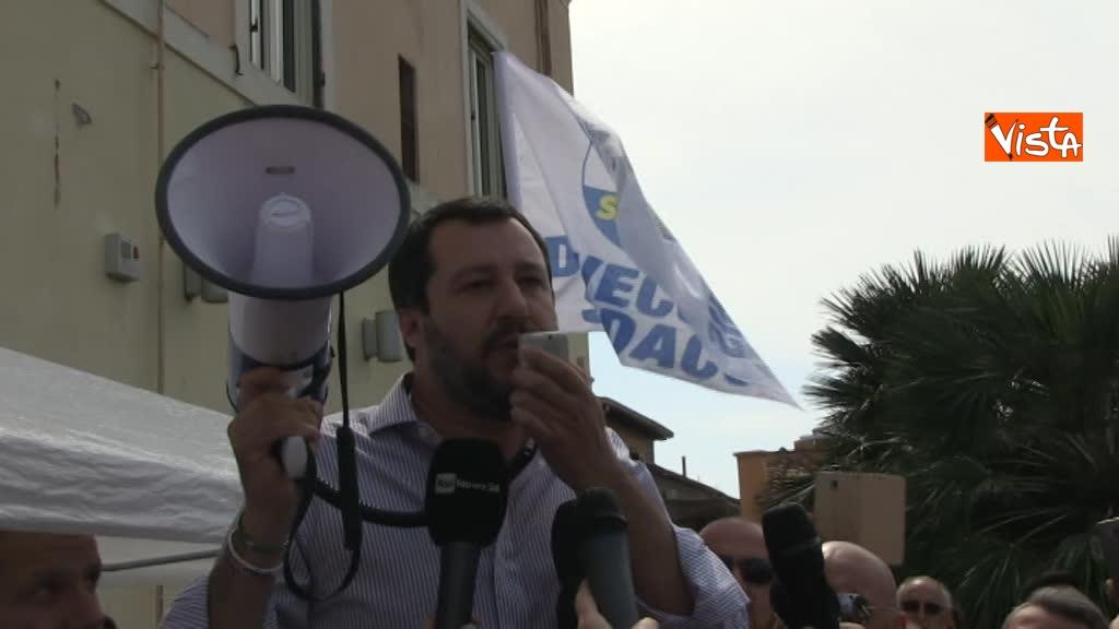 Matteo Salvini a Fiumicino_02