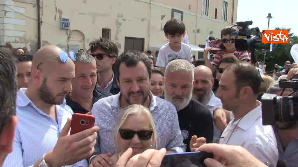 Matteo Salvini a Fiumicino_05