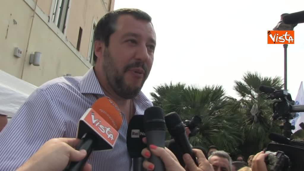 Matteo Salvini a Fiumicino_06