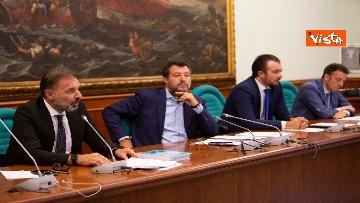 2 - Salvini in conferenza stampa alla Camera dei Deputati
