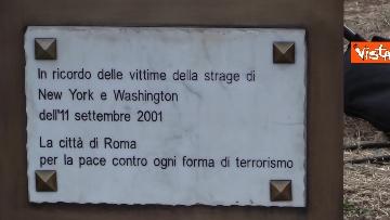 6 - Attentati dell'11 settembre, Di Maio e Raggi alla cerimonia per i 20 anni a Roma. Le foto