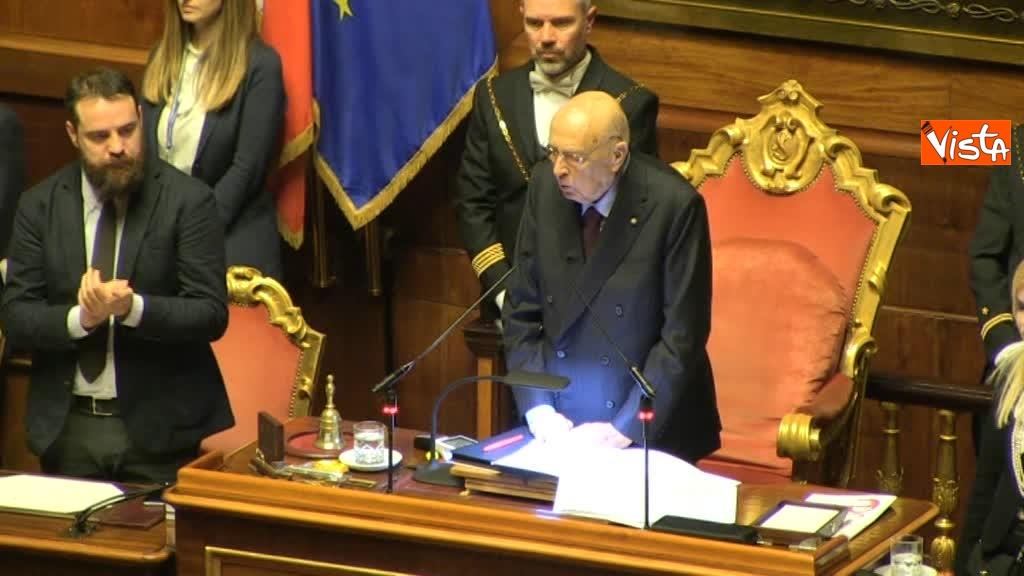 24-03-18 Napolitano si commuove salutando i senatori grande senso di responsabilita' 01_031331745967989265890