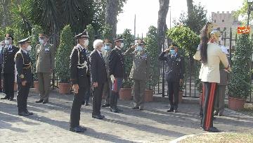 1 - Mattarella al 77° anniversario Difesa di Roma, l'omaggio ai caduti al Parco della Resistenza. Le foto