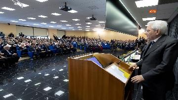 6 - Mattarella a cerimonia di inaugurazione dell'Anno Accademico dell'Università di Cassino, le immagini