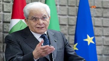 8 - Mattarella a cerimonia di inaugurazione dell'Anno Accademico dell'Università di Cassino, le immagini