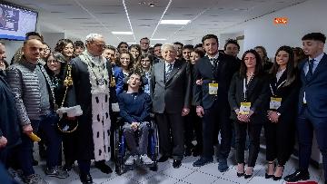 10 - Mattarella a cerimonia di inaugurazione dell'Anno Accademico dell'Università di Cassino, le immagini