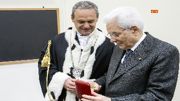 4 - Mattarella a cerimonia di inaugurazione dell'Anno Accademico dell'Università di Cassino, le immagini