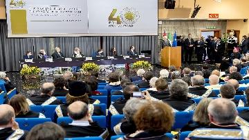 9 - Mattarella a cerimonia di inaugurazione dell'Anno Accademico dell'Università di Cassino, le immagini