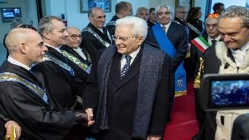 3 - Mattarella a cerimonia di inaugurazione dell'Anno Accademico dell'Università di Cassino, le immagini
