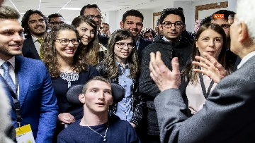 11 - Mattarella a cerimonia di inaugurazione dell'Anno Accademico dell'Università di Cassino, le immagini