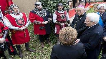 15 - Mattarella a cerimonia di inaugurazione dell'Anno Accademico dell'Università di Cassino, le immagini
