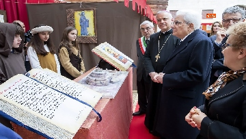 14 - Mattarella a cerimonia di inaugurazione dell'Anno Accademico dell'Università di Cassino, le immagini