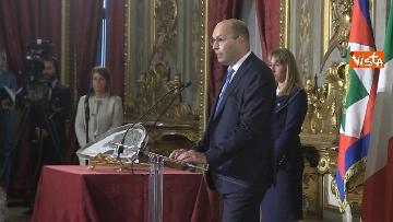 1 - Mattarella riceve il Ventaglio dall'Associazione Stampa Parlamentare al Quirinale