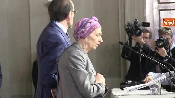 1 - Consultazioni, Gruppo Misto Senato con Bonino e Nencini a margine del colloquio con Mattarella