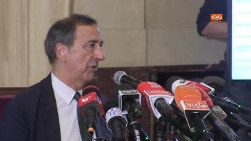 5 - Conferenza stampa di Beppe Sala all'indomani del risultato delle amministrative. Le foto