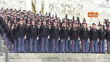 14 - 4 novembre, le celebrazioni per la festa delle Forze Armate all'Altare della Patria