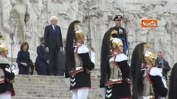 7 - 4 novembre, le celebrazioni per la festa delle Forze Armate all'Altare della Patria