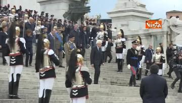 8 - 4 novembre, le celebrazioni per la festa delle Forze Armate all'Altare della Patria