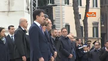 11 - 4 novembre, le celebrazioni per la festa delle Forze Armate all'Altare della Patria