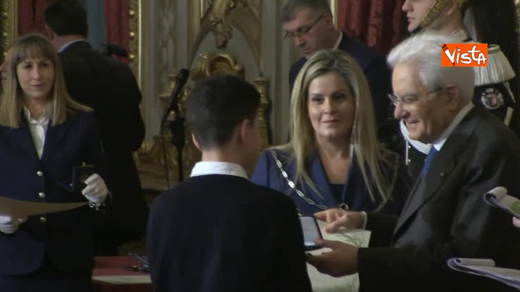 12-03-18 Mattarella consegna il riconoscimento Alfieri della Repibblica  lo speciale 00_488095732941374403484