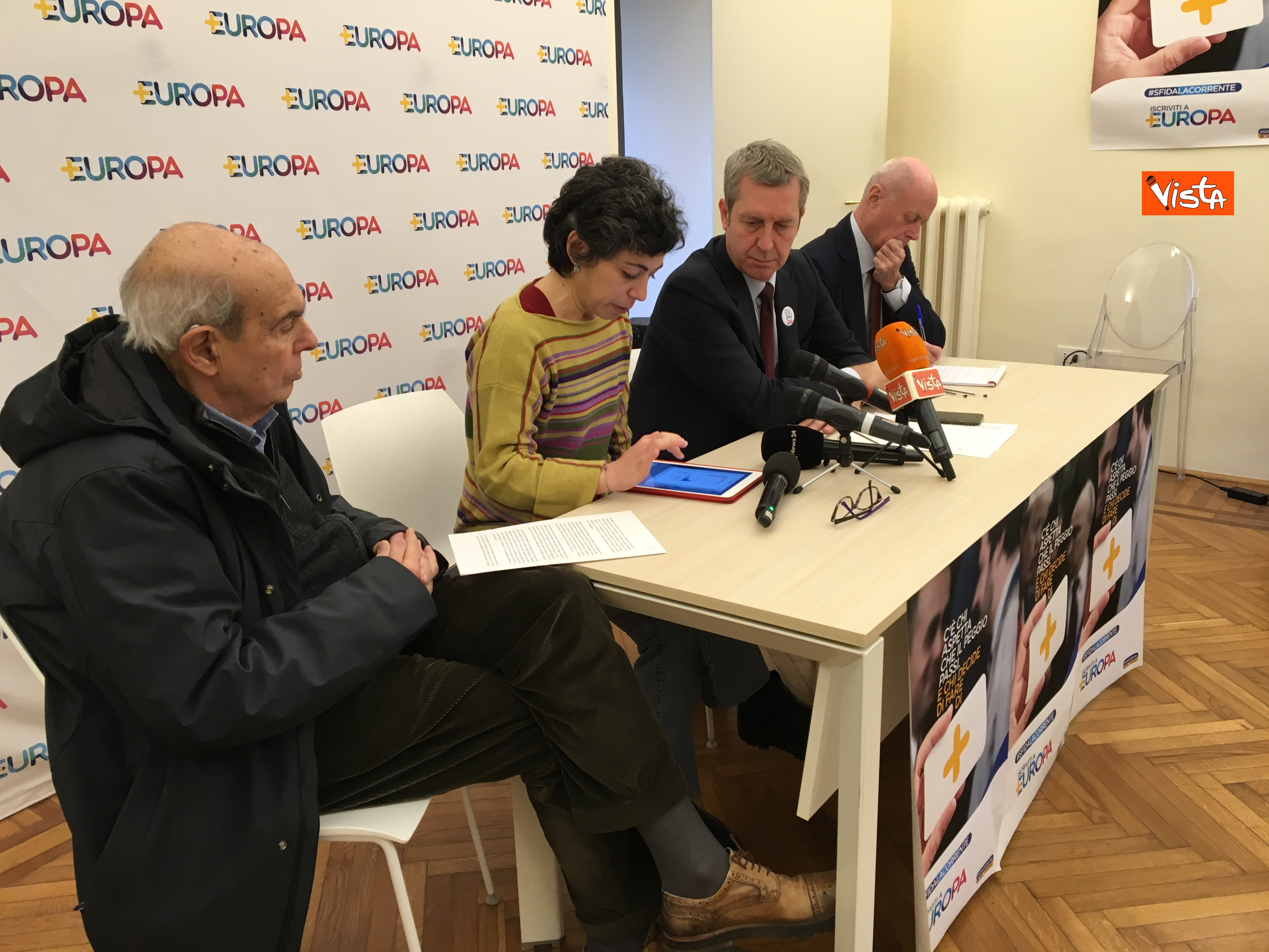 21-01-19 Europa la conferenza di presentazione del Congresso a Milano_Spadaccia_Manzi_Della Vedova_Tabacci_05
