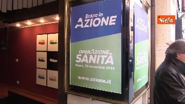 1 - 'Operazione sanità', il primo incontro pubblico di Azione al teatro Eliseo di Roma. Le immagini