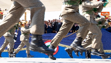 18 - Festa della Repubblica, Mattarella arriva ai Fori Imperiali per assistere alla parata del 2 giugno