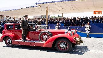 17 - Festa della Repubblica, Mattarella arriva ai Fori Imperiali per assistere alla parata del 2 giugno