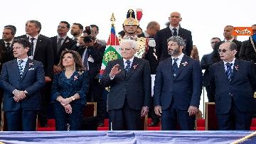 12 - Festa della Repubblica, Mattarella arriva ai Fori Imperiali per assistere alla parata del 2 giugno