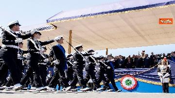 10 - Festa della Repubblica, Mattarella arriva ai Fori Imperiali per assistere alla parata del 2 giugno