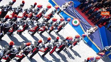 13 - Festa della Repubblica, Mattarella arriva ai Fori Imperiali per assistere alla parata del 2 giugno