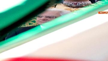 14 - Festa della Repubblica, Mattarella arriva ai Fori Imperiali per assistere alla parata del 2 giugno