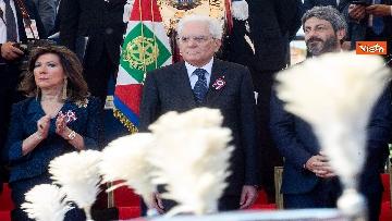 9 - Festa della Repubblica, Mattarella arriva ai Fori Imperiali per assistere alla parata del 2 giugno