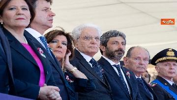 8 - Festa della Repubblica, Mattarella arriva ai Fori Imperiali per assistere alla parata del 2 giugno